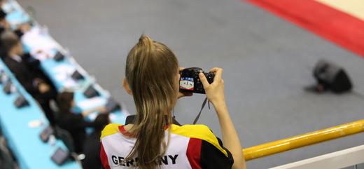 Die Deutschen waren bei den Finals der Sportakrobatik-WM zum Zuschauen verurteilt.