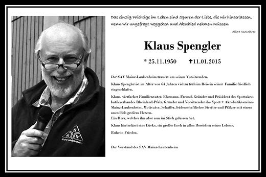 Klaus Spengler