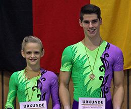 Formation des Jahres 2014: Max Hoppe und Luise Fischer
