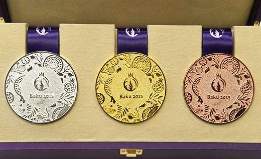 Europaspiele: Medaillen