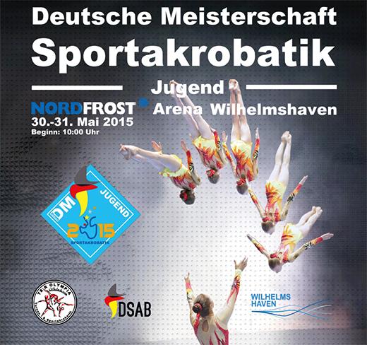 Plakat zur Deutschen Jugend-Meisterschaft