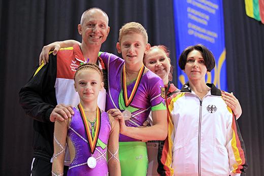 EM in Riesa: Zwei Medaillen für Deutschland