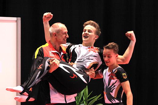 Bronze für Tim Sebastian und Michail Kraft