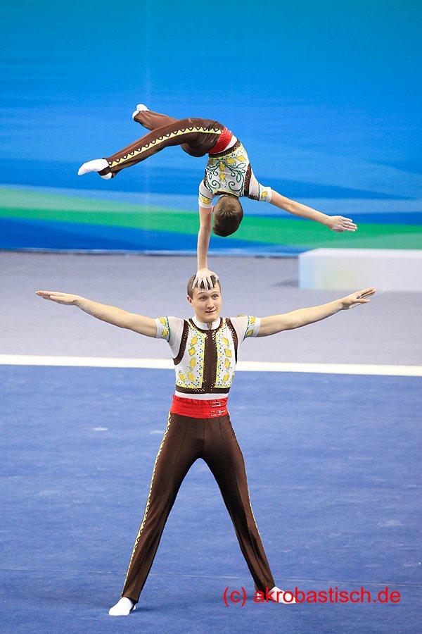 Aleksandr Hauk und Kristijan Hauk