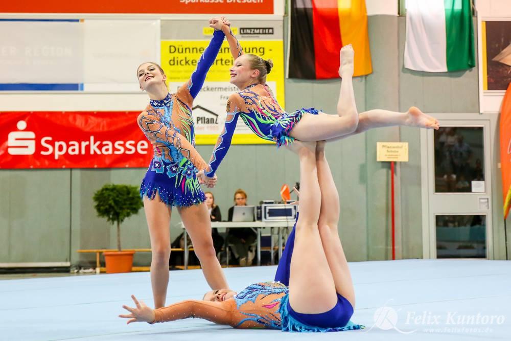Lena Waschulewski, Lisa Müller und Xenia Bartel