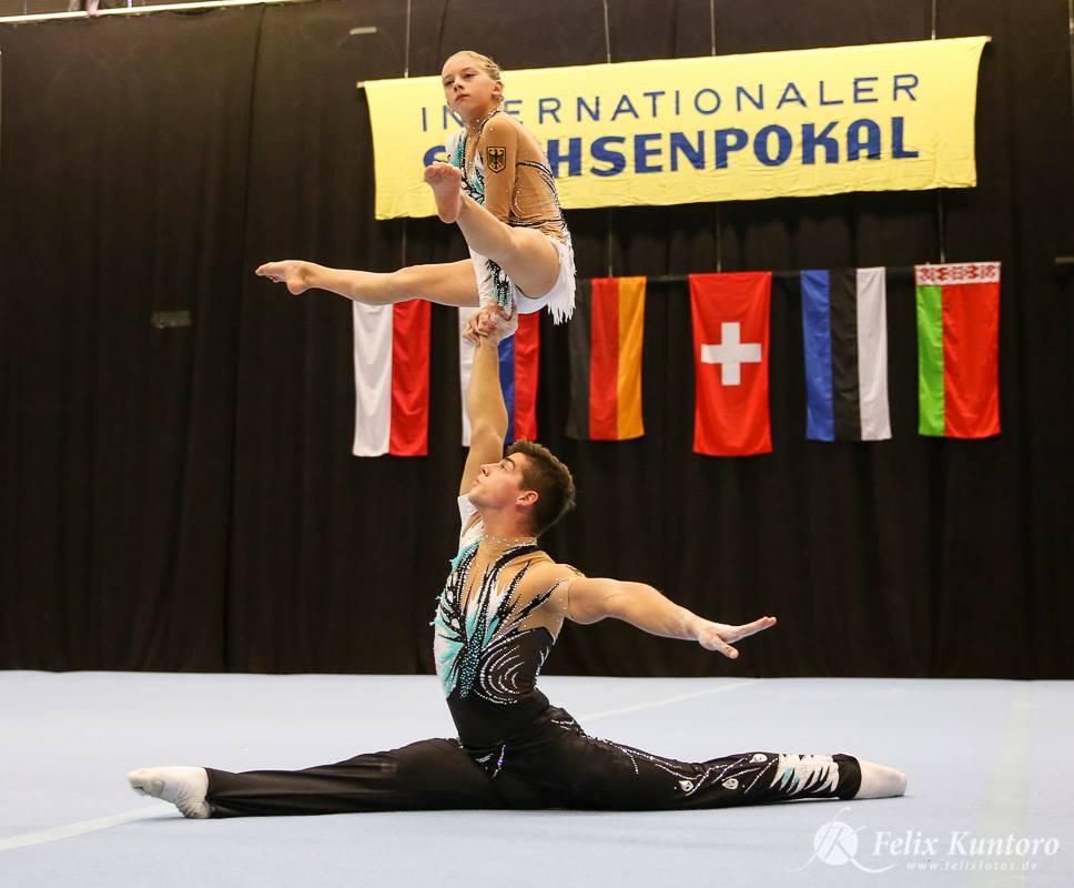 Max Hoppe und Vanessa Schippan