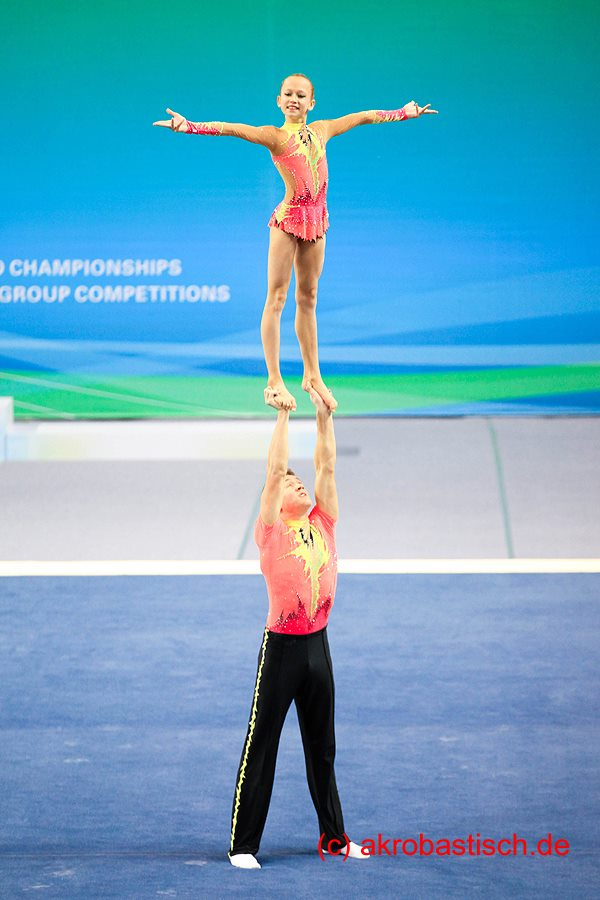 Sascha Jeriomkin und Kim Nele Fuhrmann