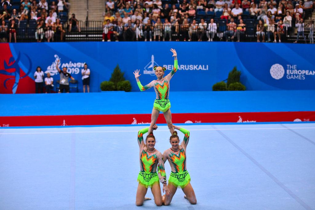 Talia De Troyer, Britt Vanderdonckt und Charlotte Van Royen aus Belgien