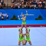 Europaspiele in Minsk: Je zweimal Gold für Belgien, Russland und Weißrussland