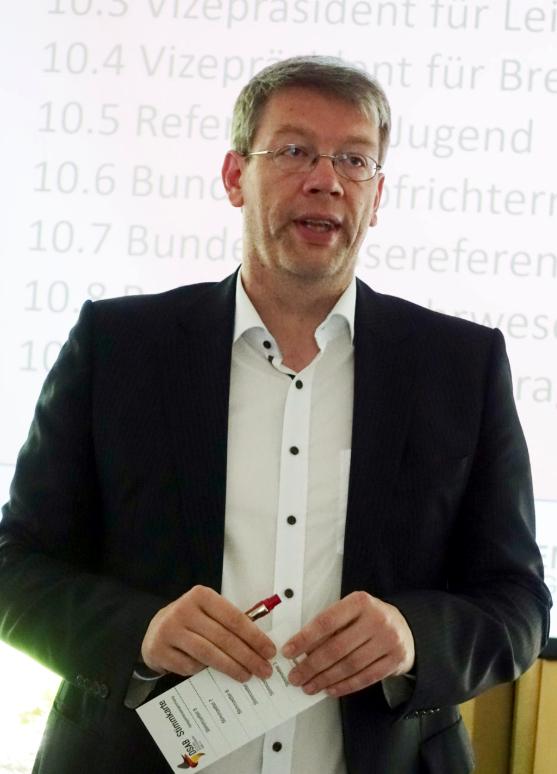 Präsident Oliver Stegemann: Die Pandemie hat nicht nur müde, sondern mürbe gemacht.